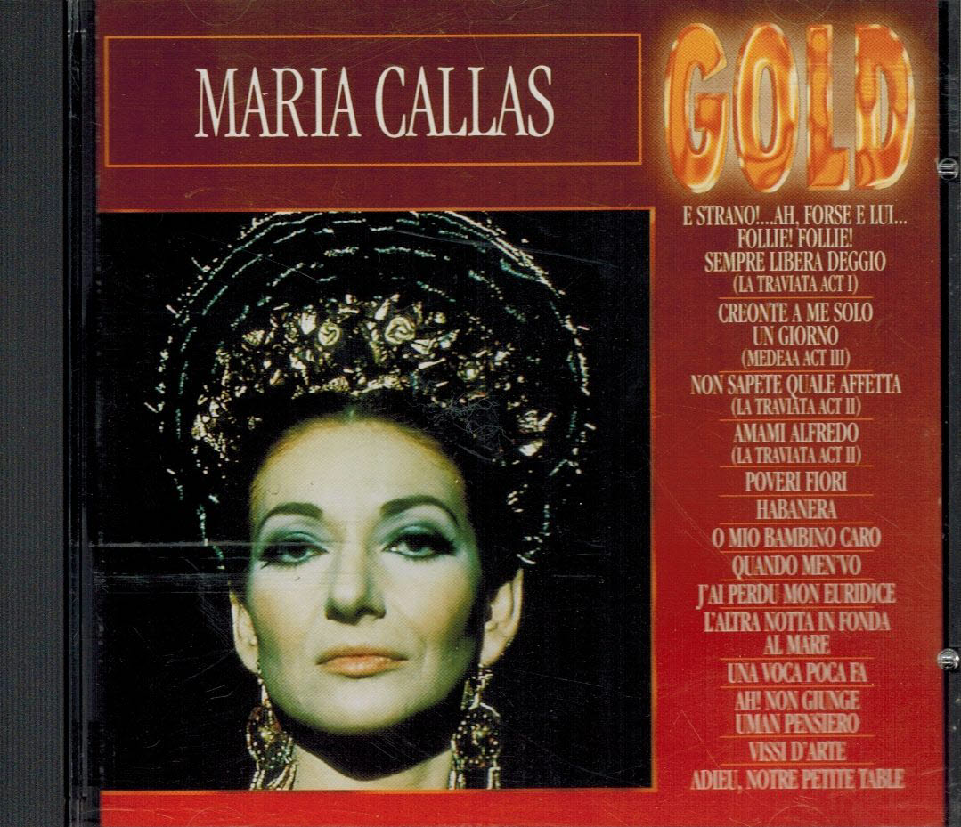 Maria Callas - Gold / CD