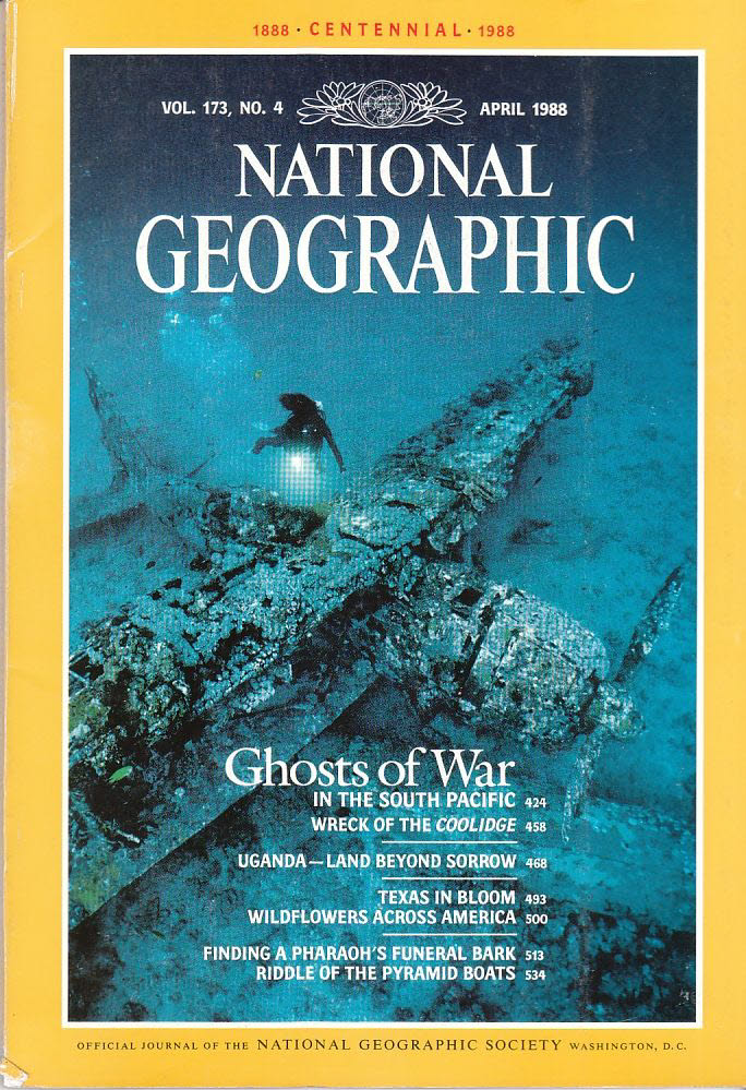 National Geographic 173/4 April 1988