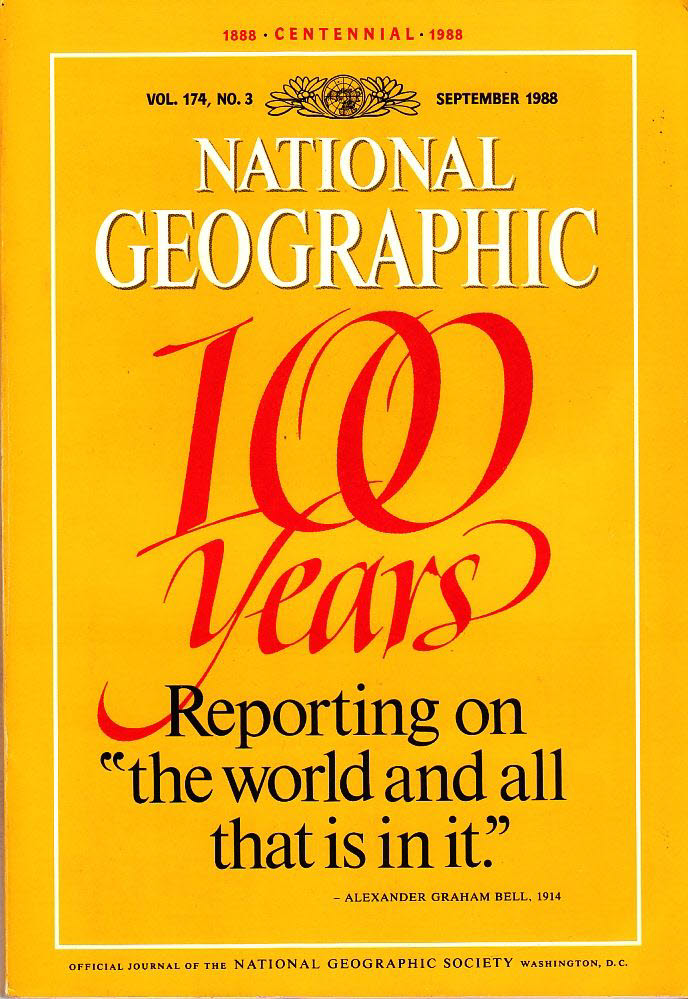 National Geographic 174/3 September 1988