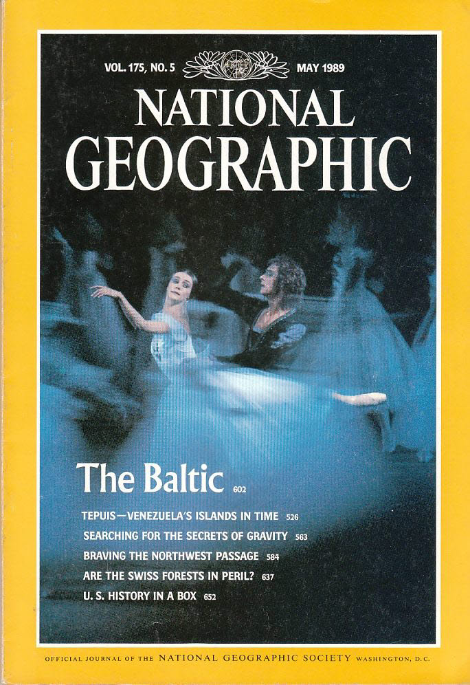 National Geographic 175/5 May 1989