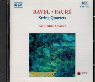 Ravel M., Fauré G. - String Quartets / CD