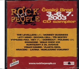 Rock for People - Český Brod 3.-6. 7. 2003 / CD