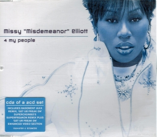 "Missy ""Misdemeanor"" Elliott - 4 My People / CD"