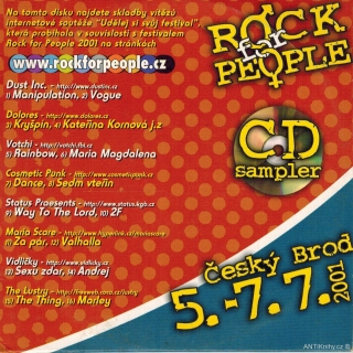 Rock for People 2001 / CD