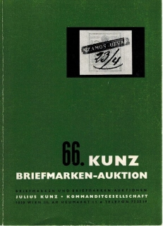 66. Kunz Briefmarken-auktion