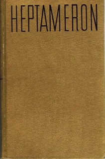 Heptameron novel