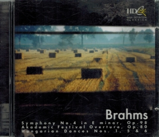 Brahms - Symphony No. 4 in E minor, Op 98 / CD