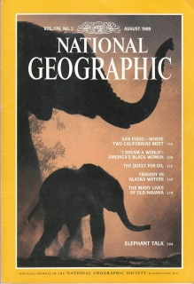 National Geographic 176/2 August 1989