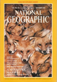 National Geographic 180/3 September 1991