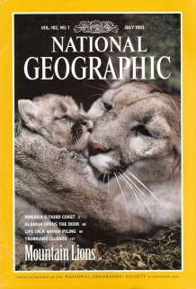 National Geographic 182/1 July 1992