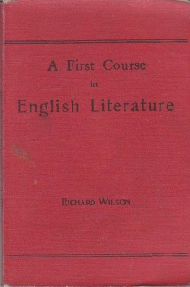 Wilson Richard - A First Course in English Literature